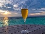 飲み物-海とビール