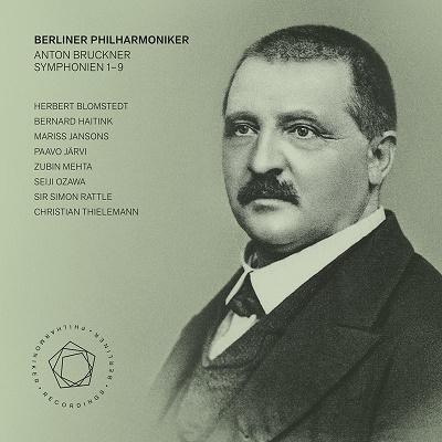 現代の8人のブルックナー指揮者による交響曲全集【激安9SACD】Berliner Philharmoniker Bruckner Symphonien 1-9