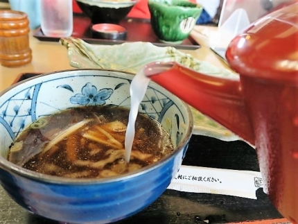 21-5-30 蕎麦湯