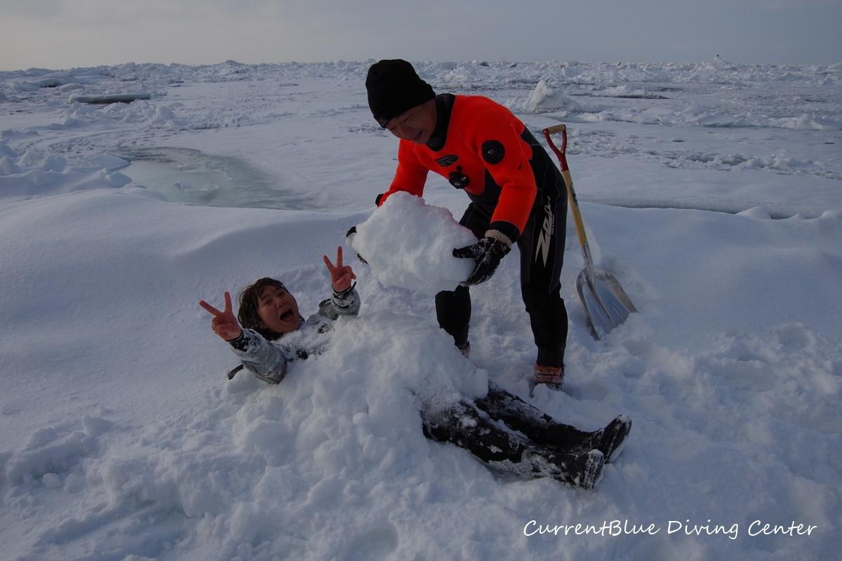 カレントブルー流氷ダイビングツアー (10)