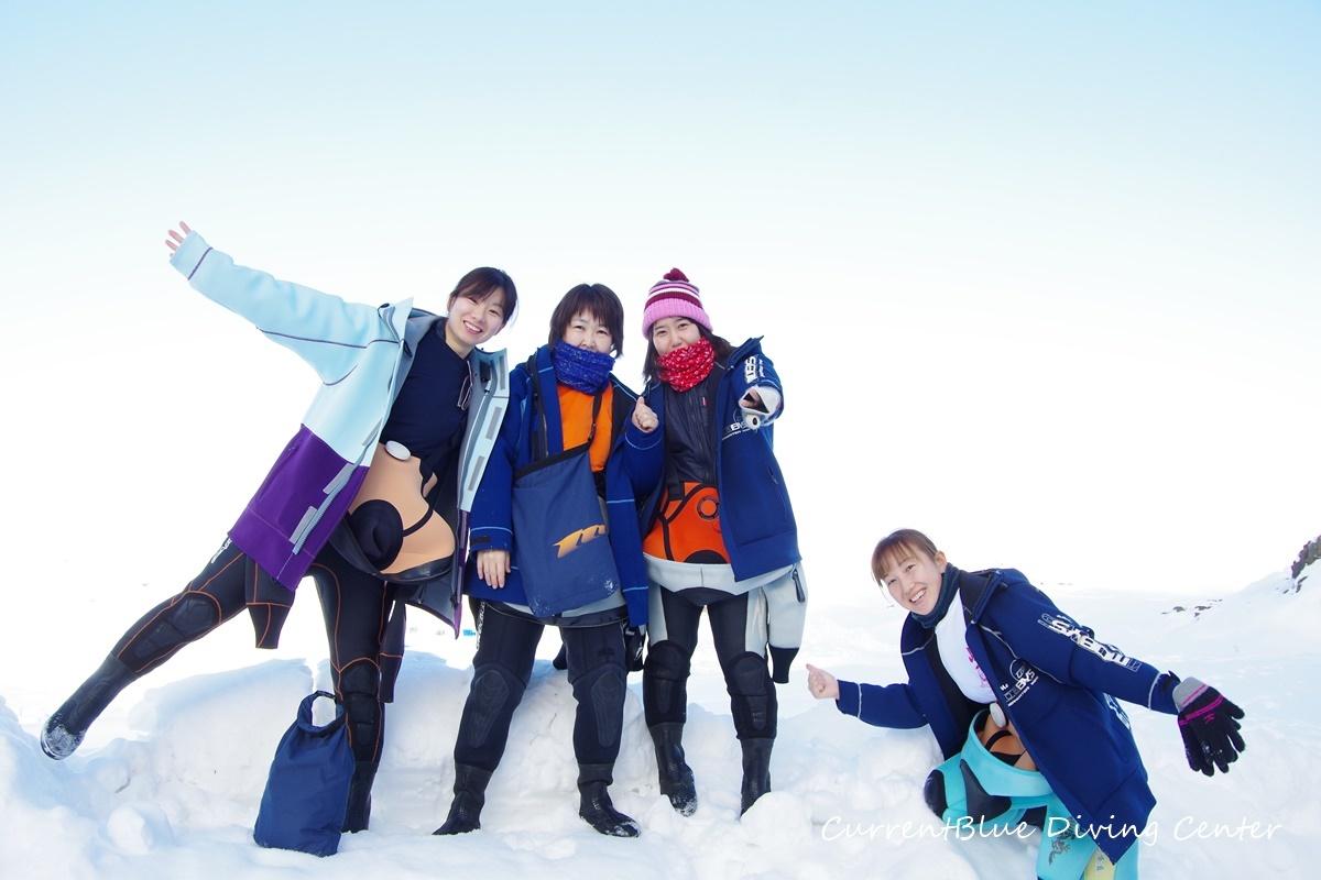 カレントブルー流氷ダイビングツアー (11)