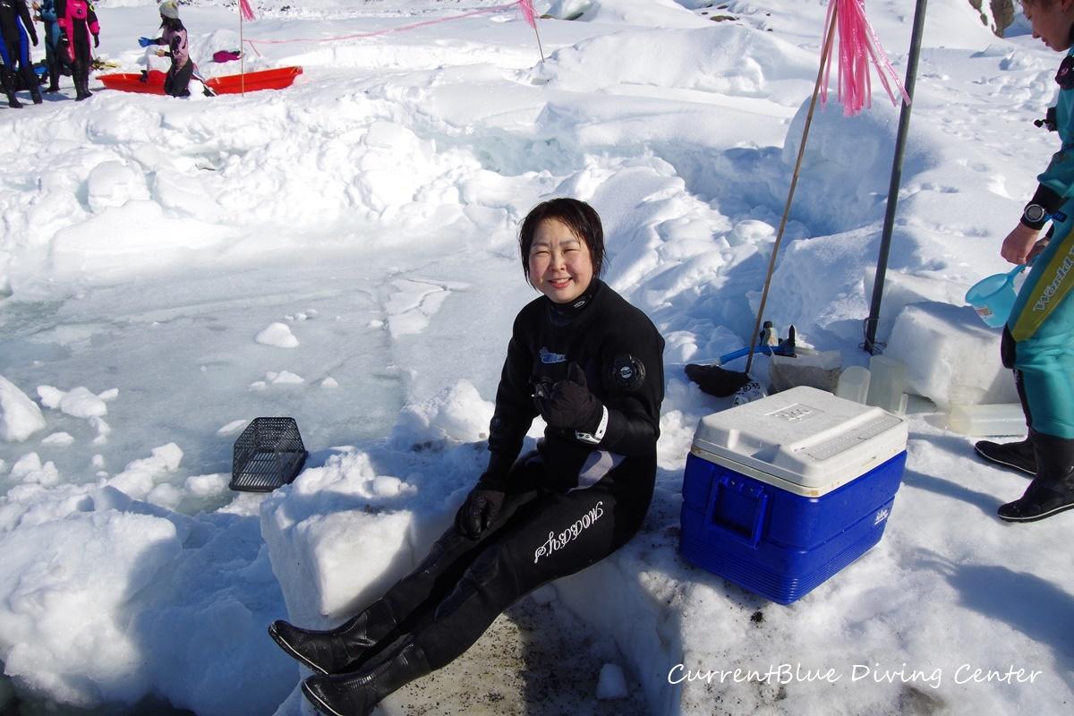 カレントブルー流氷ダイビングツアー (12)