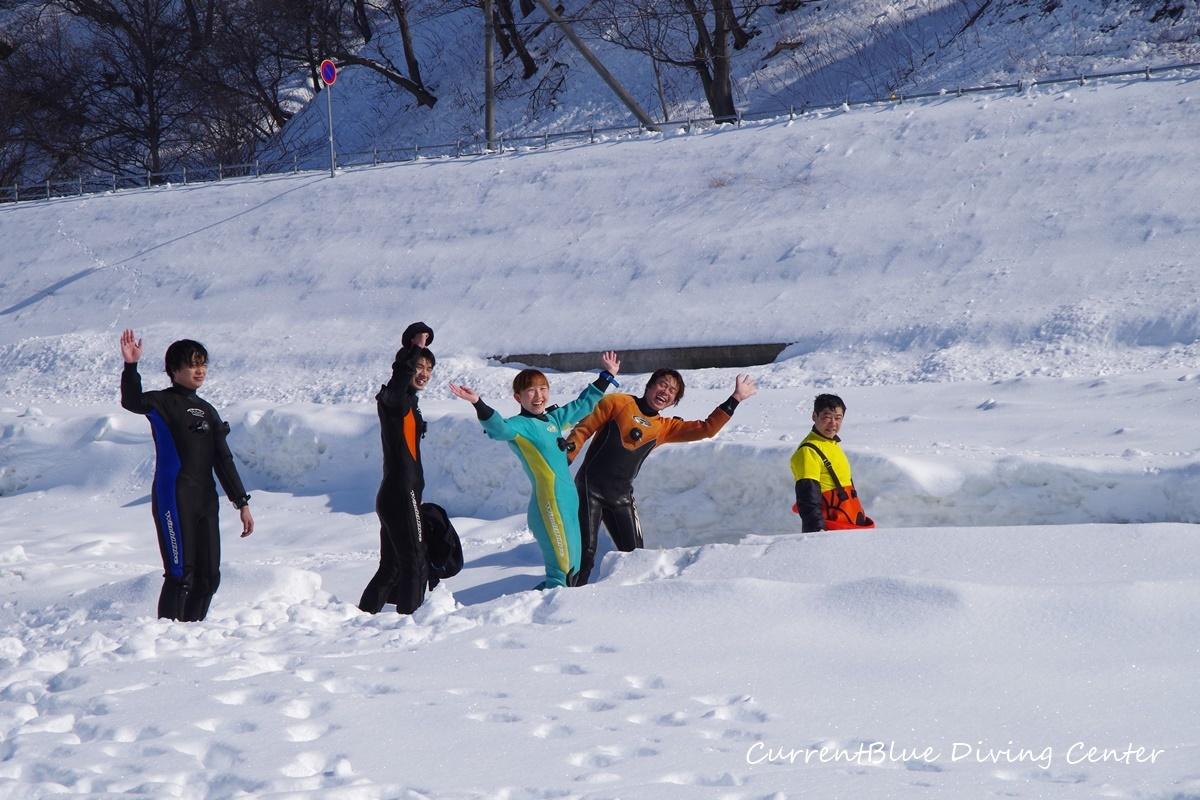 カレントブルー流氷ダイビングツアー (13)
