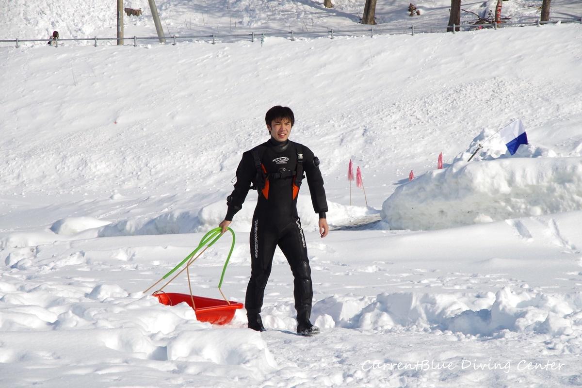 カレントブルー流氷ダイビングツアー (14)