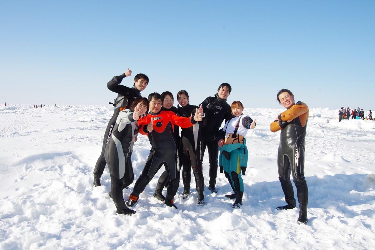 カレントブルー流氷ダイビングツアー (17)