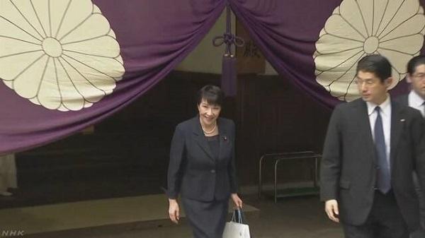 20210905高市、首相就任後も靖国参拝!「一人の日本人として役職にかかわらず続けてきた。外交問題ではない」