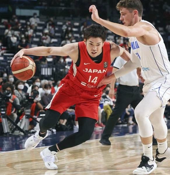 バスケットボール男子の強化試合は9日、沖縄アリーナで行われ