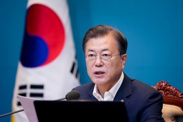 文大統領「日本の輸出規制が韓国経済に直撃弾になるという見通しは当たらなかった」