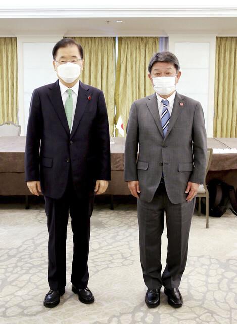 20210507韓国外相「反日」暴挙に無反省!日韓外相会談後の茂木「このままではいけない」・アホ!断交しろ!