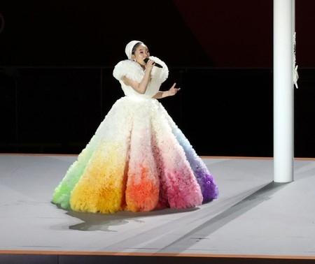 東京オリンピックで「君が代」が流れ…「一緒に歌うおばあちゃん、鳥肌」=韓国報道