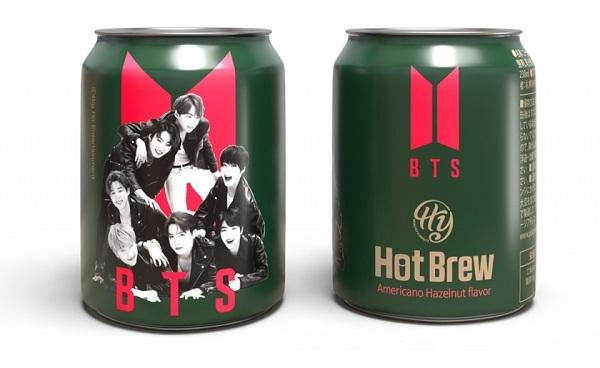 BTS、初の缶コーヒー発売 世界初の日本先行公開の限定商品