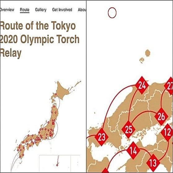 20210529東京五輪HP地図に竹島を表記・韓国政府が削除を要求・韓国前首相と元首相「拒否なら五輪不参加」