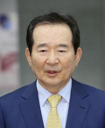 韓国の丁世均前首相(聯合=共同)20210529東京五輪HP地図に竹島を表記・韓国政府が削除を要求・韓国前首相と元首相「拒否なら五輪不参加」