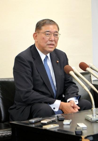 20211003石破茂、今後の総裁選に意欲「全国から多くのご支持を頂いている」南北朝鮮の犬・マスゴミはゴリ押し