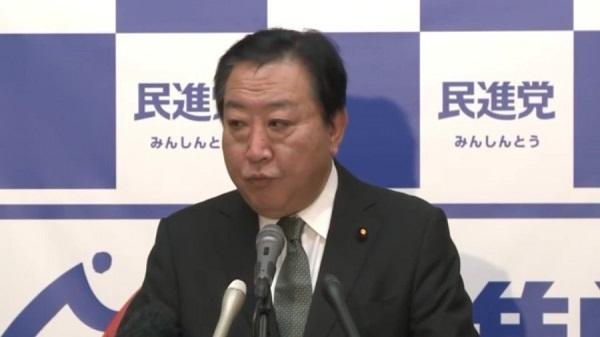 安倍総理の大使一時帰国への批判?野田幹事長が日本政府の立場に立ってちゃんと答えます。不満そうに何度も粘着する、反日フリー記者の横田 一。自説を元に質問をする。