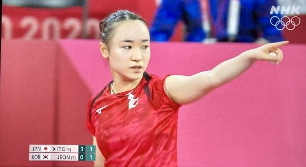20210730韓国、伊藤美誠に妨害ライト!テレビクルーが韓国選手との卓球の試合中に・NHKがネット拡散を妨害