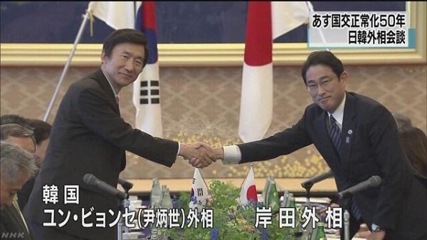 日韓両政府は、2015年6月21日と22日の外相会談で既に世界遺産委員会での声明を「forced to work(労働を強制された)」とすることで合意していた! 安倍首相も了承!