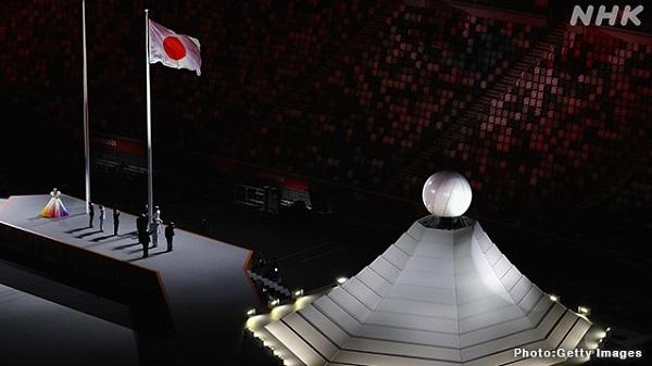 20210724開会式、〇ドラクエ、ドローン、MISIA、ピクトグラム・×イマジン、ボレロ、バッハ、大阪なおみ