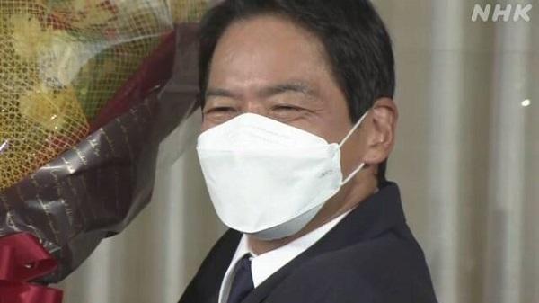 横浜市長選 立民推薦の山中竹春氏 当選確実 小此木氏ら及ばず