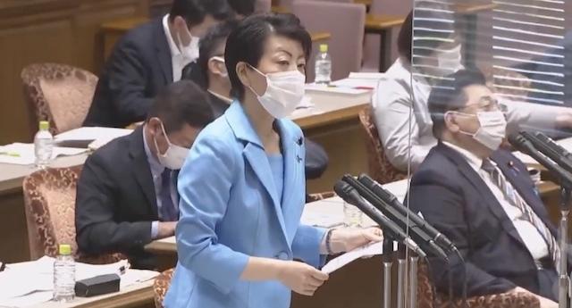 20210601国会で朝日新聞の虚偽を批判!有村治子が慰安婦強制の捏造を追及・河野談話の取消や日韓断交が必要