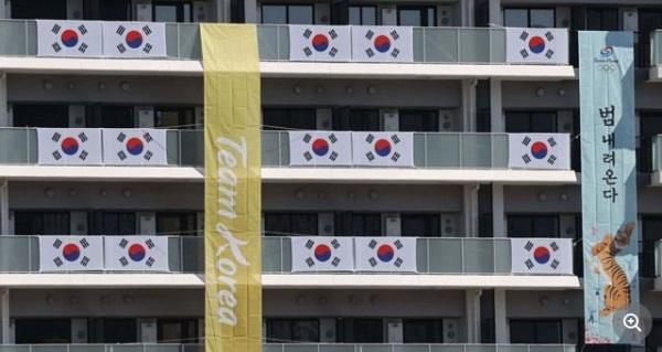 20210723韓国人が選手団の垂れ幕を批判!漫画家ユン・ソイン!横断幕も批判!親日発言をすると殺害される韓国