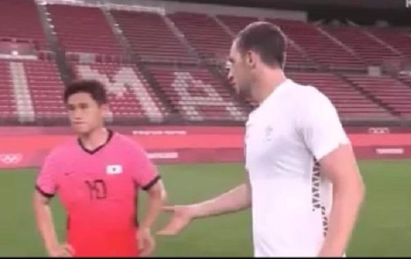 韓国サッカー代表、ニュージーランドに敗れ、試合後の握手を拒否