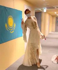 カザフスタンのお姫様 のコピー
