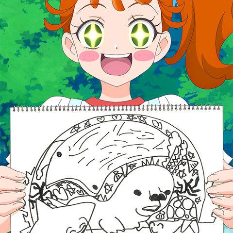 【トロピカル~ジュ!プリキュア】第11話「もりあがれ!海辺のサンドアート!」06