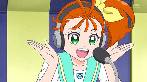 【トロピカル~ジュ!プリキュア】第13話「ドタバタ校内放送!響け、人魚の歌!」10