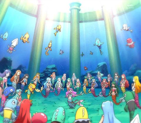 【トロピカル~ジュ!プリキュア】第13話「ドタバタ校内放送!響け、人魚の歌!」02