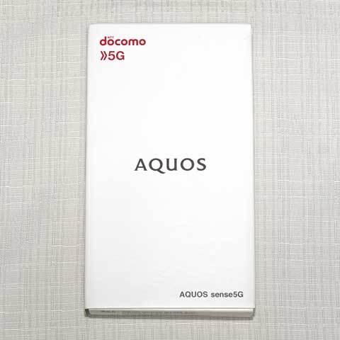 【AQUOS sense5G SH-53A】外装