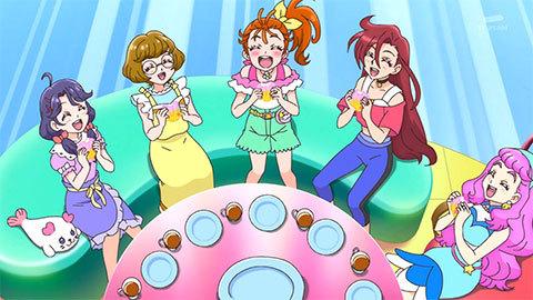 【トロピカル~ジュ!プリキュア】第20話「名探偵みのりん!消えたメロンパン事件!」20