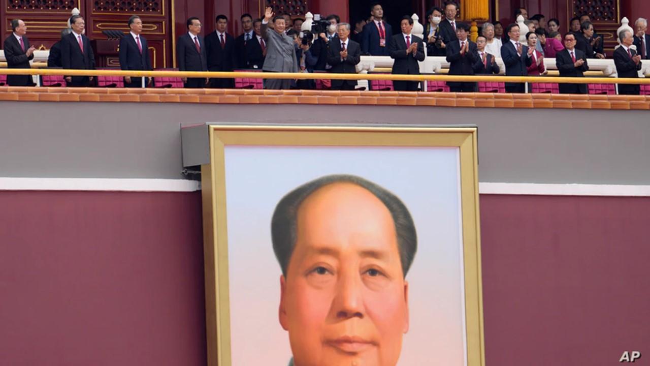 President Xi and Mao