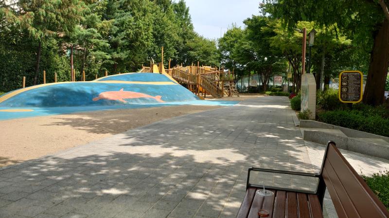 二村,公園,韓国