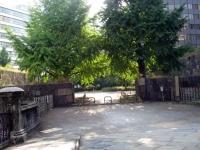 常磐橋から公園を見る