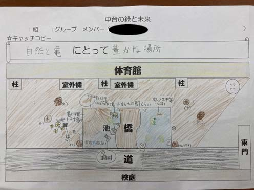 緑小学校 未来図1