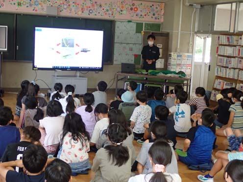 緑小学校 授業