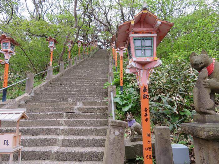 そこそこな階段