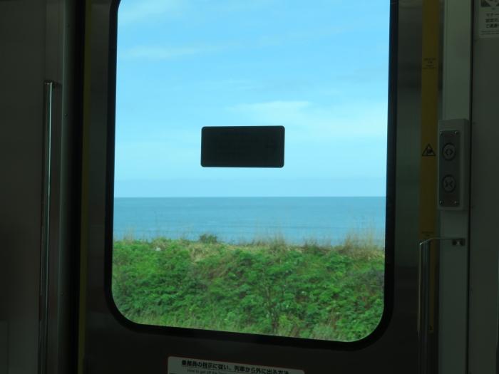 復路の車窓