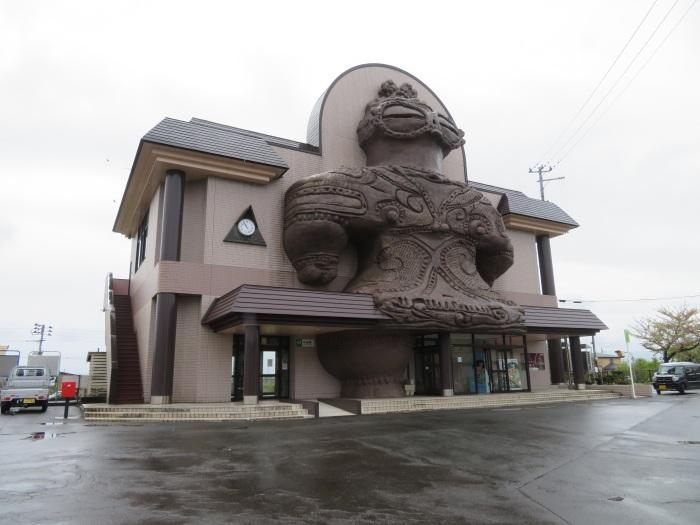 木造駅 駅舎