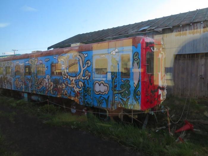 落書き列車