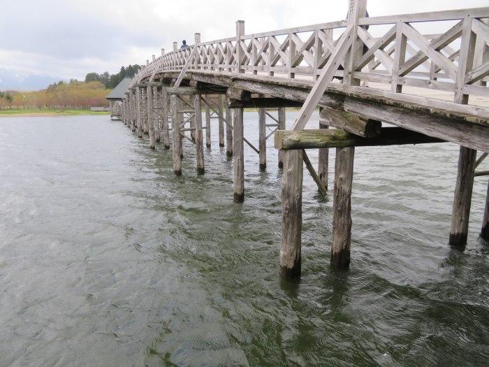 紛う事無き木の橋