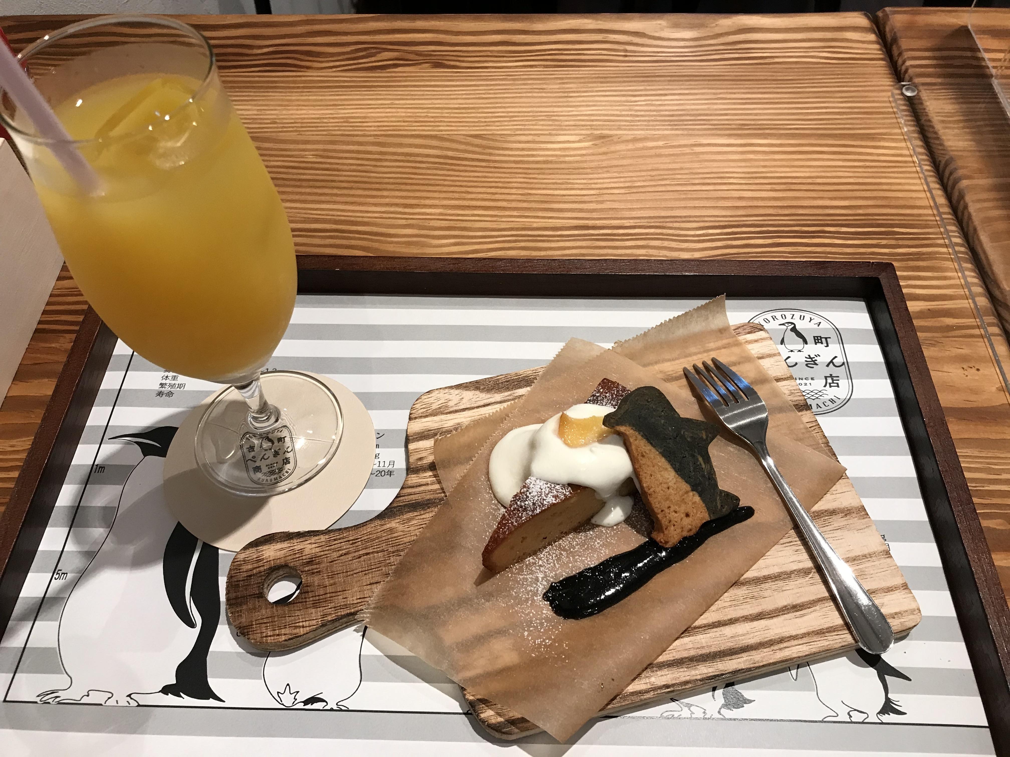 古町ペンギン商店_ケーキ1