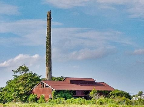 鹿島海軍航空隊跡地の煙突