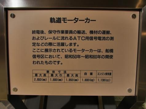 軌道モーターカー【地下鉄博物館】