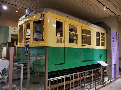 東京高速鉄道 100形電車【地下鉄博物館】