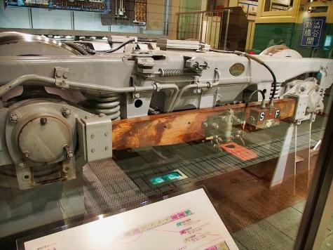 第3軌条集電装置【地下鉄博物館】