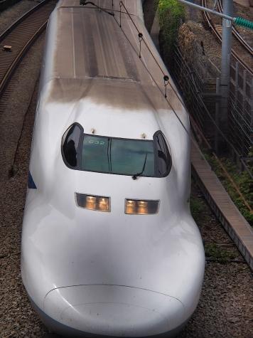 東海道新幹線 700系 C32編成【御殿山の跨線橋】