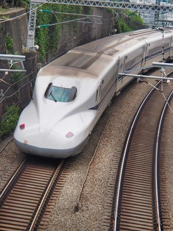 東海道新幹線 N700系 X72編成【御殿山の跨線橋】