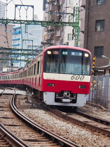 京急 600形 電車【北品川駅~八ツ山橋】